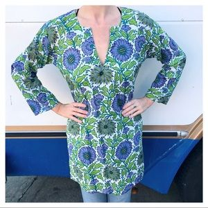 Tops - Vintage Floral Tunic